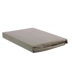 Beddinghouse Jersey Topper Hoeslaken- 90x200/210 - Taupe